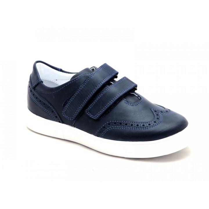 Туфли для мальчиков школьников Miracle Me 7005