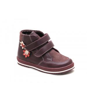 Демисезонные ботинки для девочек Miracle Me 7416 (26-31р.)