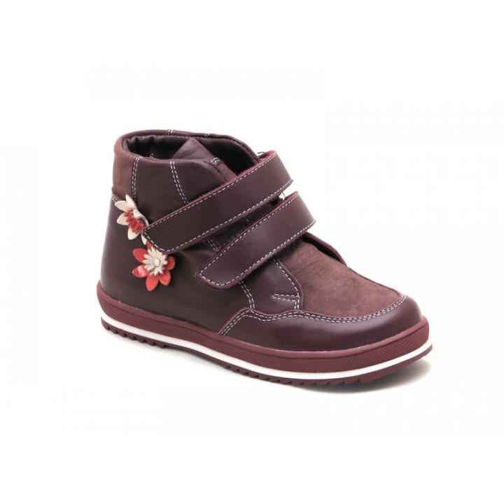 Ботинки демисезонные для девочки Miracle Me 7416