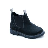 Демисезонные ботинки челси для детей Miracle Me 5316 черный (21-35р.)