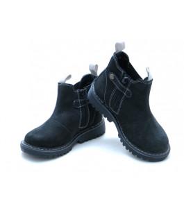 Демісезонні черевики челсі для дітей Miracle Me 5316 чорний (21-35р.)