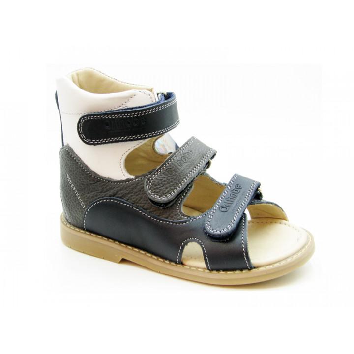 ORTHOBE детская ортопедическая обувь - Детские ортопедические сандалии на мальчиков Ортоби 005-2bg