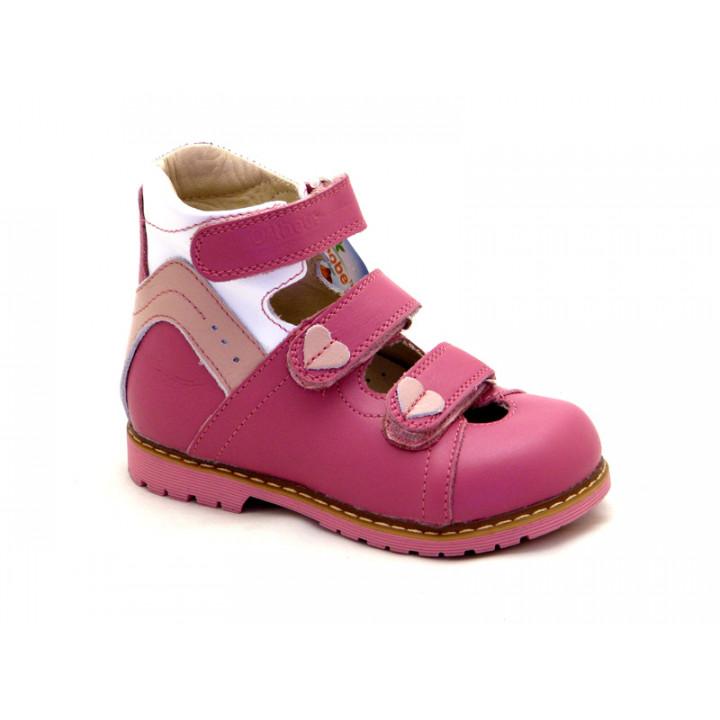 ORTHOBE детская ортопедическая обувь - Детские ортопедические туфли на девочку Ортоби 013p