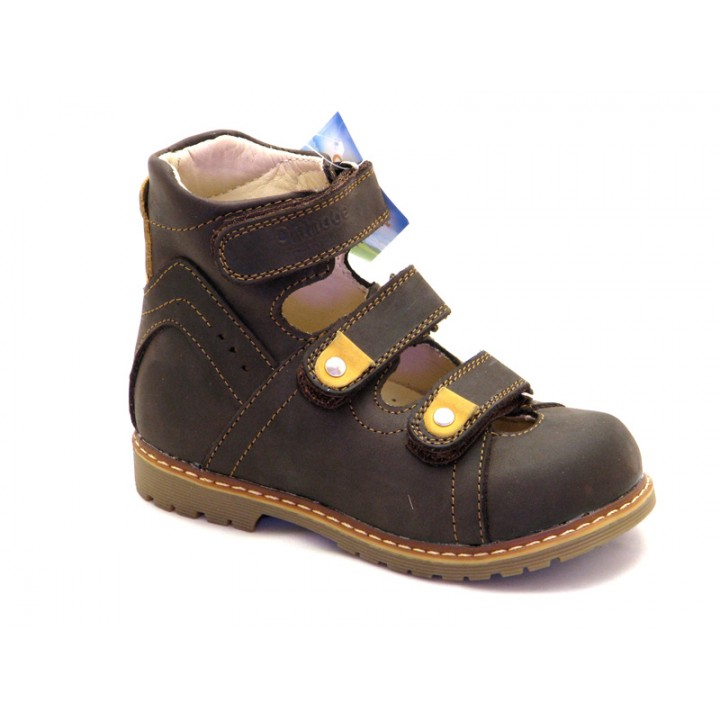 ORTHOBE детская ортопедическая обувь - Детские ортопедические туфли на мальчиков Ортоби 013br