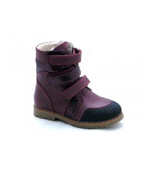 Ортопедичні профілактичні зимові черевики з жорстким задником ORTHOBE 321V (23-35р.)