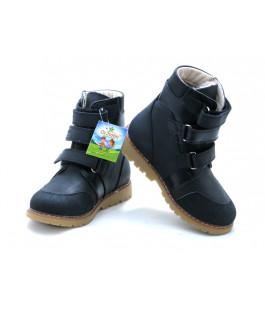 Ортопедичні профілактичні зимові черевики з жорстким задником ORTHOBE 321BL (23-35р.)