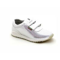 Серебристые кроссовки для девочек СКАЗКА 376-272 (26-31р.)