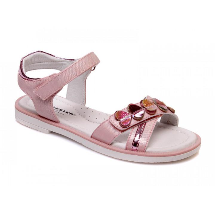 Купить стильные босоножки для девочек СКАЗКА WeeStep R525951072 P