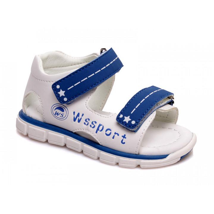 Купить стильные босоножки для мальчиков СКАЗКА WeeStep R913550098 WBL