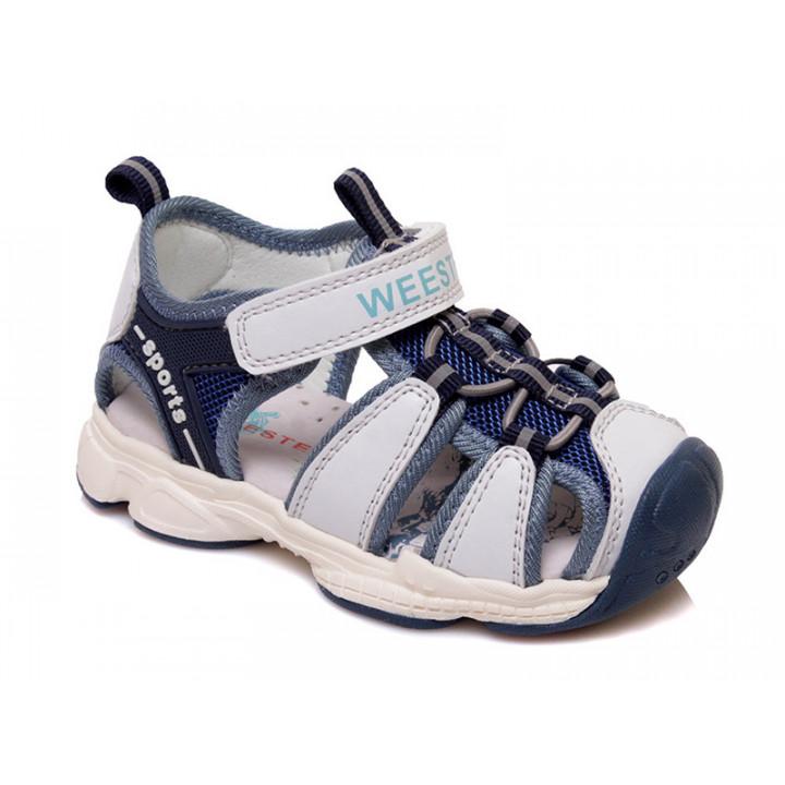 Купить стильные босоножки для мальчиков СКАЗКА WeeStep R922750015 W