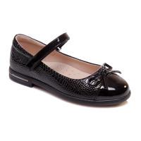 Черные туфли для девочки WeeStep R555954133 BK (29-33р.)