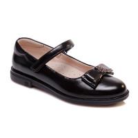 Черные туфли для девочки WeeStep R767154153 BK (29-33р.)