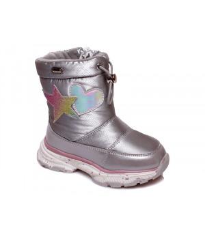 Зимові термо чобітки для дівчинки WeeStep 919757048 S (22-26р.)