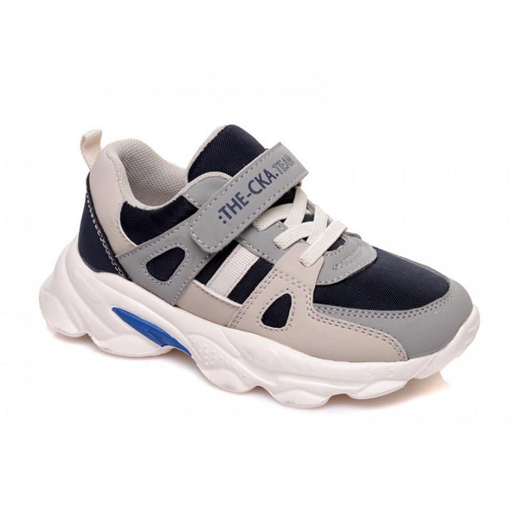 Купити дитячі стильні кросівки для хлопчика СКАЗКА WeeStep R003833991 GR