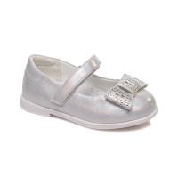 Серебристые туфельки для девочки СКАЗКА WeeStep R526333301 S (21-36р.)