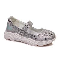 Сріблясті туфельки для дівчинки СКАЗКА WeeStep R537333910 S (27-32р.)