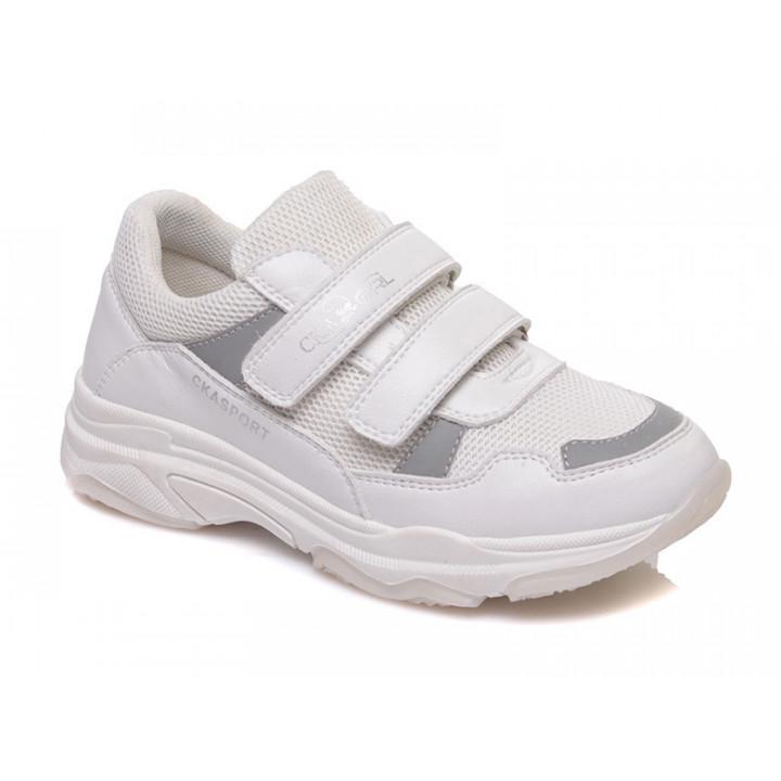 Купити стильні білі кросівки для дівчинки СКАЗКА WeeStep R537734641 W