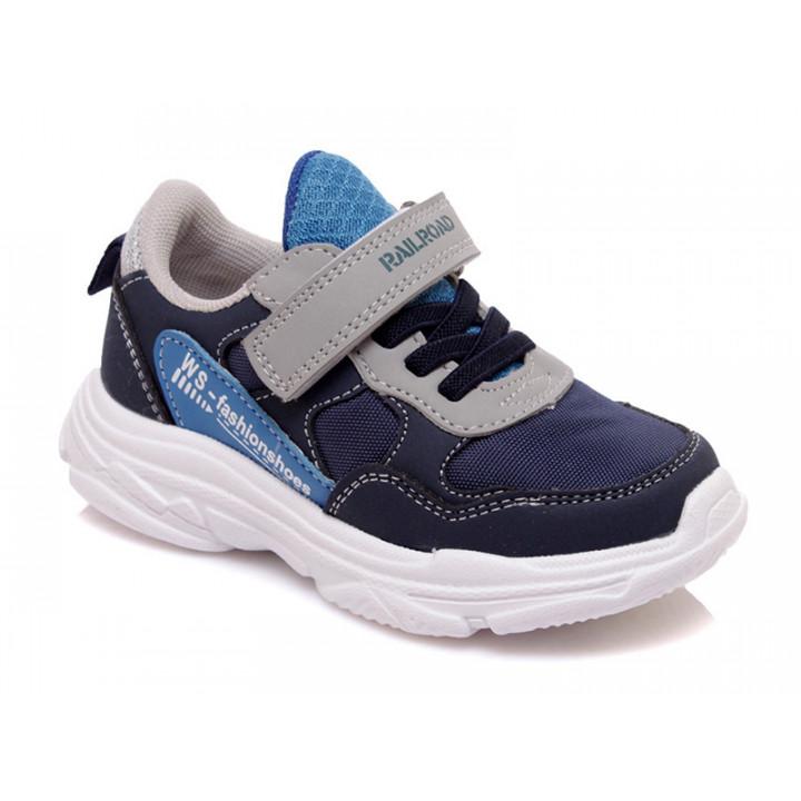 Купить стильные кроссовки для мальчиков СКАЗКА WeeStep R807633975 BL