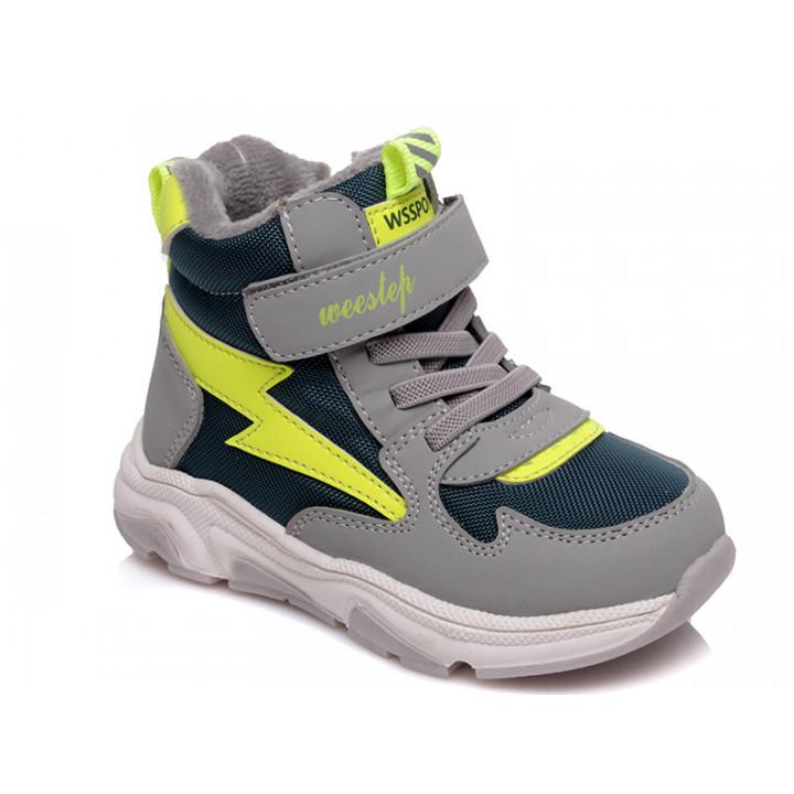 Купити демісезонні черевички для хлопчика WeeStep 563355323 GR