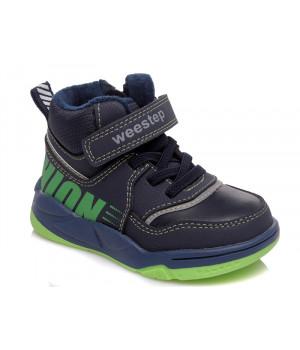 Демісезонні черевики для хлопчика WeeStep 006355422 DB (22-26р.)