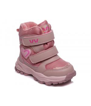 Зимові термо чобітки для дівчинки WeeStep 568757222 P (22-26р.)