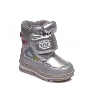 Зимові термо чобітки для дівчинки WeeStep 520957201 S (22-26р.)