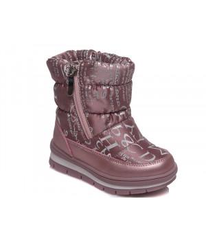 Зимові термо чобітки для дівчинки WeeStep 520957205 P (22-26р.)