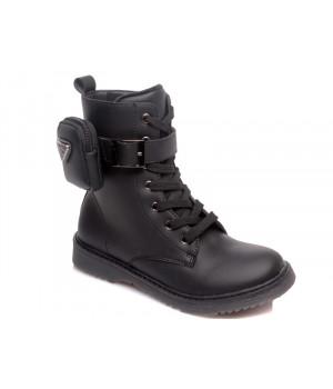 Демісезонні черевики для дівчинки WeeStep 652256380 BK (32-37р.)