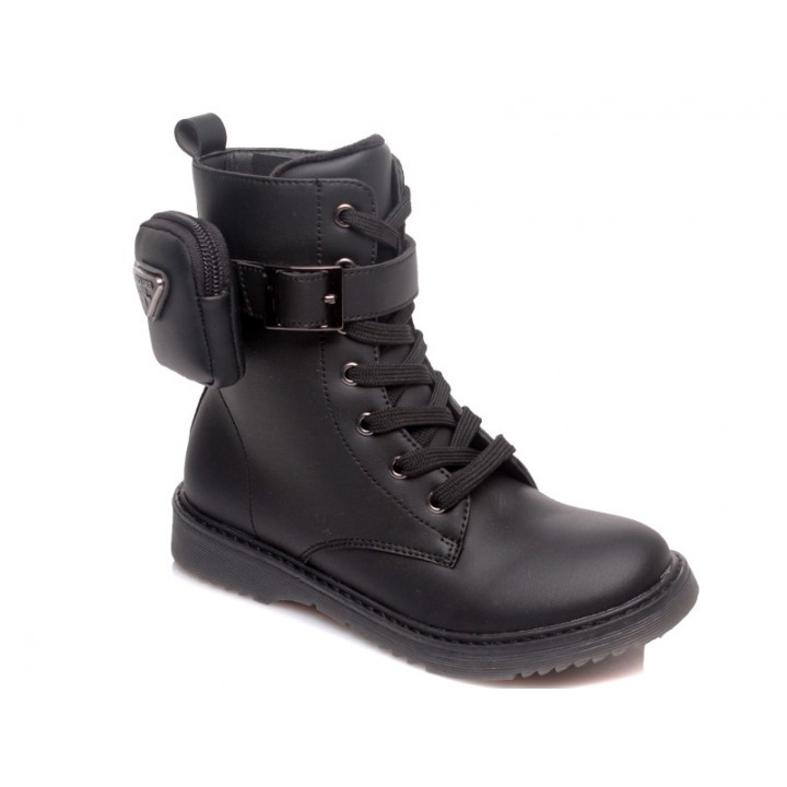Купити дитячі черевички для дівчинки WeeStep 652256380 BK
