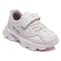Стильні білі кросівки для дітей WeeStep 803853538 W (27-32р.)