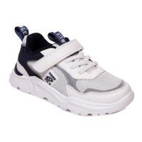 Стильные белые кроссовки для детей WeeStep 090353615 W (27-32р.)