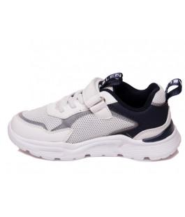 Стильні білі кросівки для дітей WeeStep 090353615 W (27-32р.)