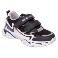 Стильні кросівки для хлопчика WeeStep 201554251 BK (32-37р.)
