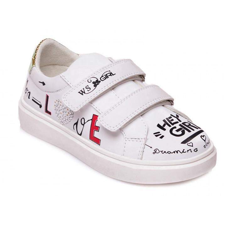 Купити стильні кросівки для дівчинки WeeStep 522153647 W