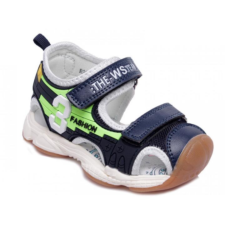Купити стильні босоніжки для хлопчика WeeStep R922750323 DB