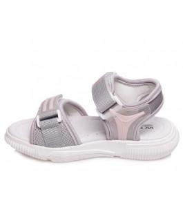 Стильні босоніжки для дівчинки WeeStep R563150835 GR  (26-31р.)