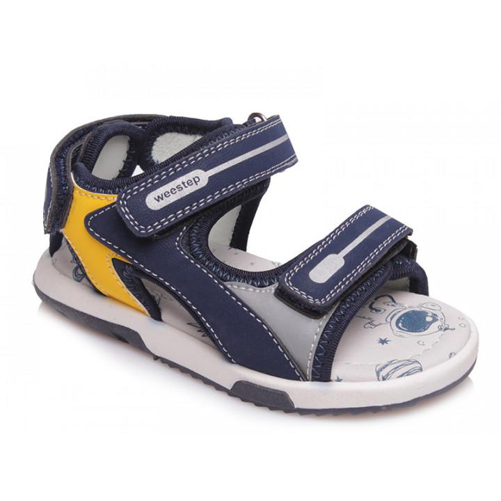 Купити стильні босоніжки для хлопчика WeeStep R553750261 DB