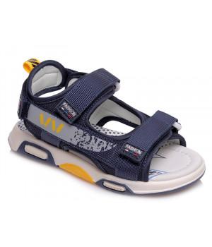 Стильні босоніжки для хлопчика WeeStep R923150911 DB (26-31р.)