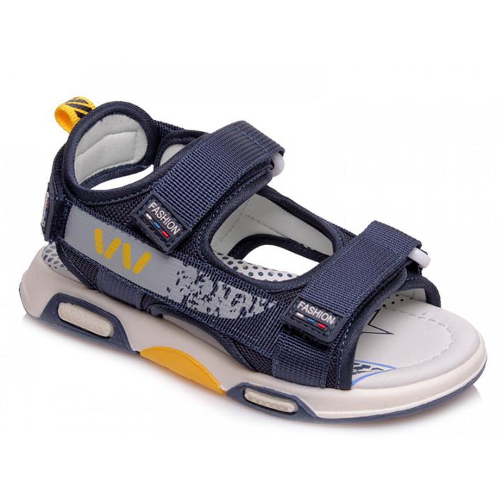 Купити стильні босоніжки для хлопчика WeeStep R923150911 DB