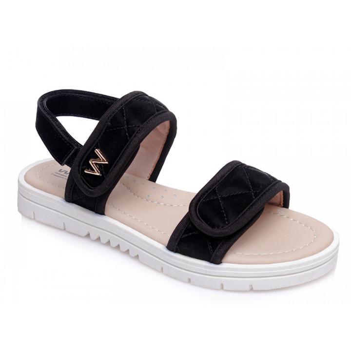 Купити стильні босоніжки для дівчинки WeeStep R522851121 BK