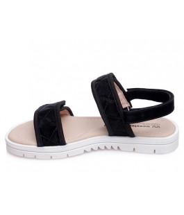 Стильні босоніжки для дівчинки WeeStep R522851121 BK  (31-36р.)