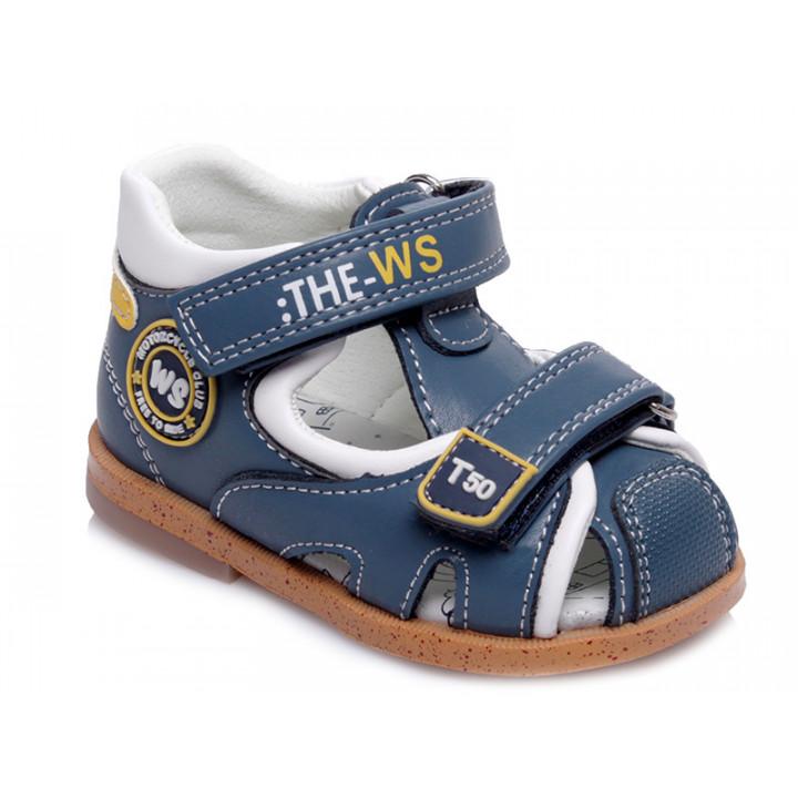 Купити стильні босоніжки для хлопчика WeeStep R911750341 CB