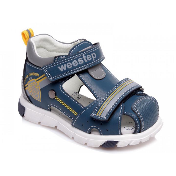 Купити стильні босоніжки для хлопчика WeeStep R562350386 BL