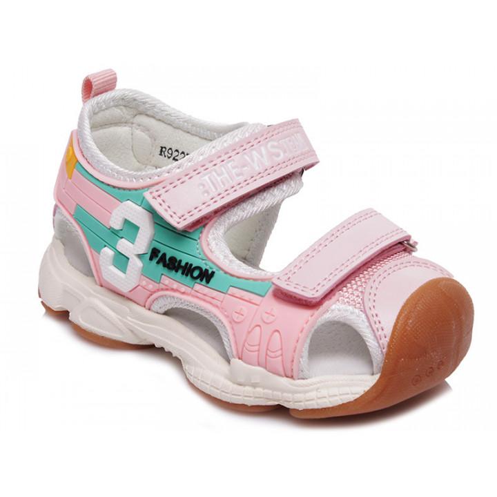 Купити стильні босоніжки для дівчинки WeeStep R922750323 P