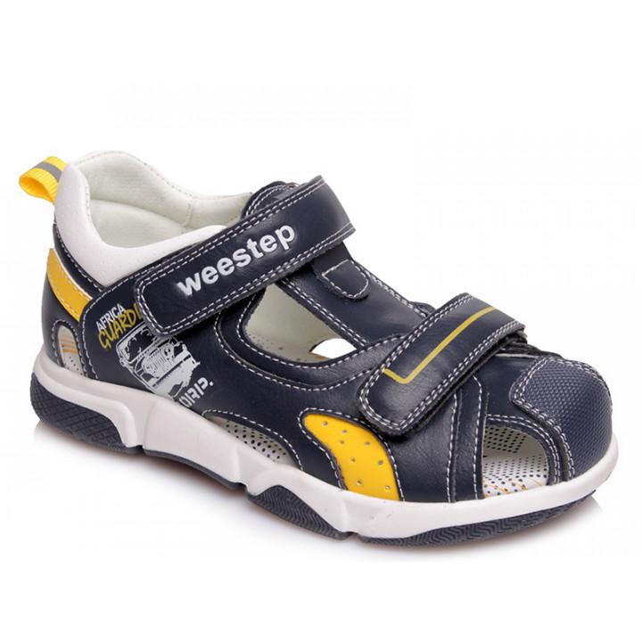 Купити стильні босоніжки для хлопчика WeeStep R562250762 DB