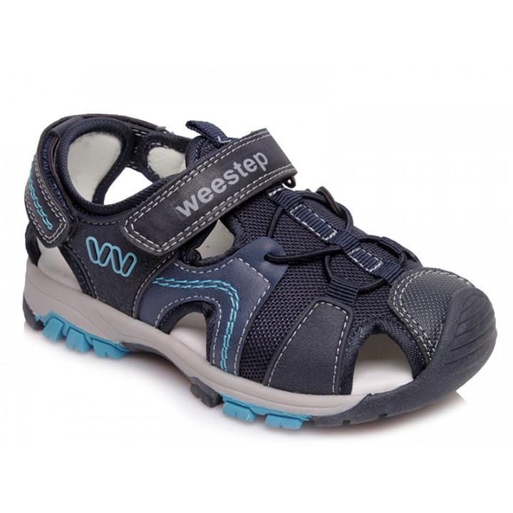 Купити стильні босоніжки для хлопчика WeeStep R608050711 DB