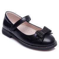 Черные туфли для девочки WeeStep 191054351 BK (29-33р.)