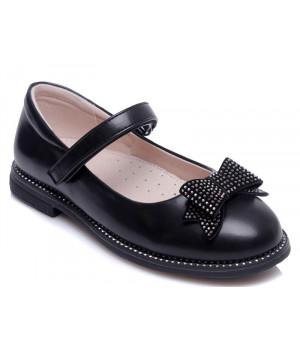 Чорні туфлі для дівчинки WeeStep 191054351 BK (29-33р.)