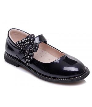 Стильні туфлі для дівчинки WeeStep 191054353 DBP  (29-33р.)