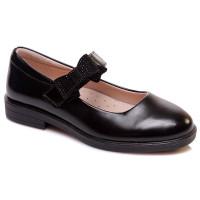 Чорні туфлі для дівчинки WeeStep 856154346 BK (29-33р.)